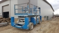 Used Equipment Sales GENIE 3384 33  DF SCISSOR W  OUTRIGGERS in Chicago IL