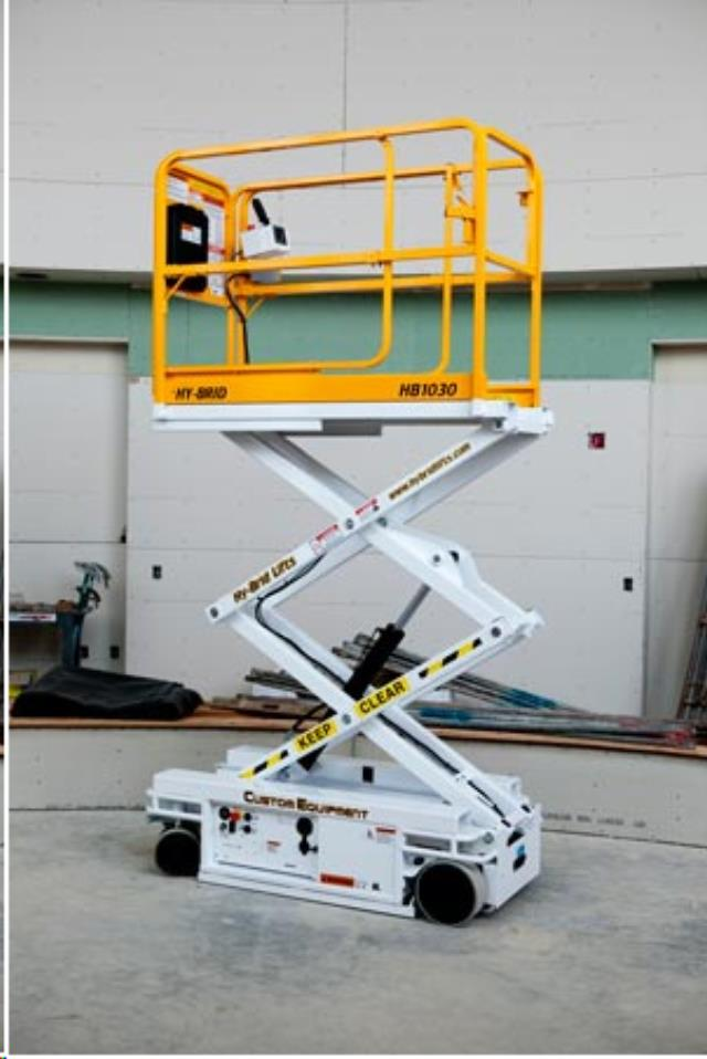 Where to find 10  ELEC SCISSOR LIFT  HYBRID 1030 in Chicago
