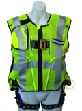 Rental store for HARNESS ; HIGH VIS LIME CLASS 2 VEST in Chicago IL