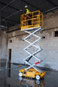 Rental store for 19  ELEC SCISSOR LIFT - HYBRID PS-1930 in Chicago IL