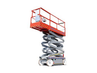 Electric Scissor Lift Rentals in Chicagoland, Naperville, St. Charles IL, Schaumberg, Rockford IL