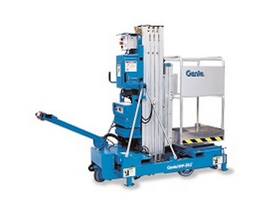Material Lift Rentals in Chicagoland, Naperville, St. Charles IL, Schaumberg, Rockford IL
