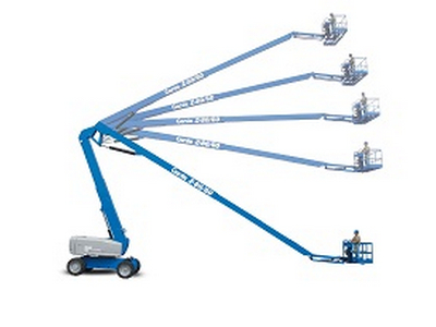 Articulating Boom Rentals in Chicagoland, Naperville, St. Charles IL, Schaumberg, Rockford IL