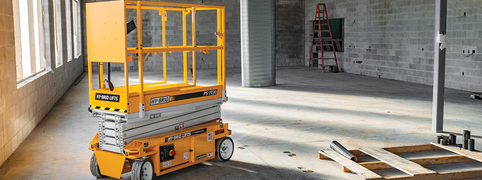 Rent Elevated Work Platforms in the Chicago Metro area